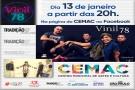 CEMAC EXIBE APRESENTAÇÃO ONLINE DA BANDA VINIL 78