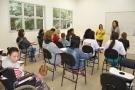 PRIMEIRA-DAMA RECEPCIONA NOVAS TURMAS DOS CURSOS DA ESCOLA DE MODA E ESCOLA DA BELEZA
